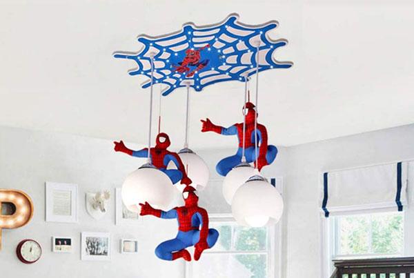 Foto del lampadario per camerette di bambini dei supereroi n.68