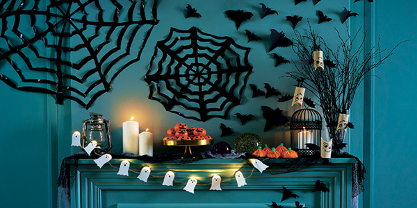 Decorazioni di halloween fai da te idee semplici e for Decorazioni halloween casa