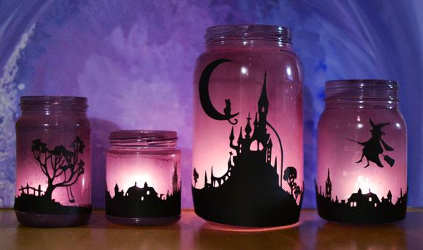 Come decorare delle lanterne fai da te di Halloween