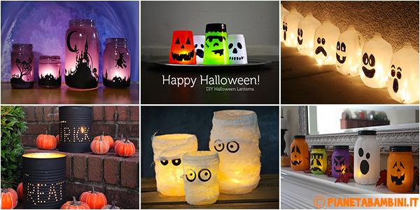 Idee per creare lanterne di Halloween fai da te
