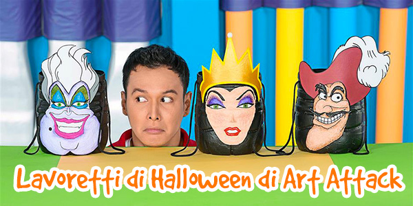 Raccolta video di lavoretti di Halloween di Art Attack
