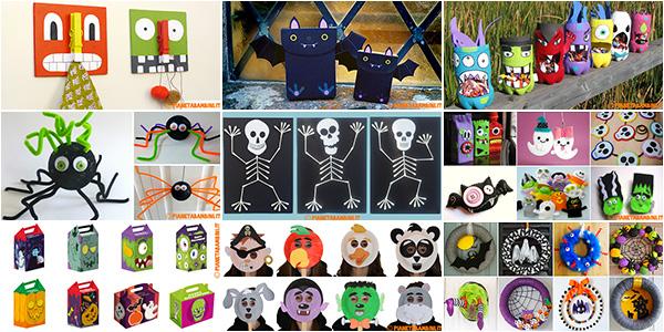 Raccolta di idee per lavoretti di Halloween per bambini
