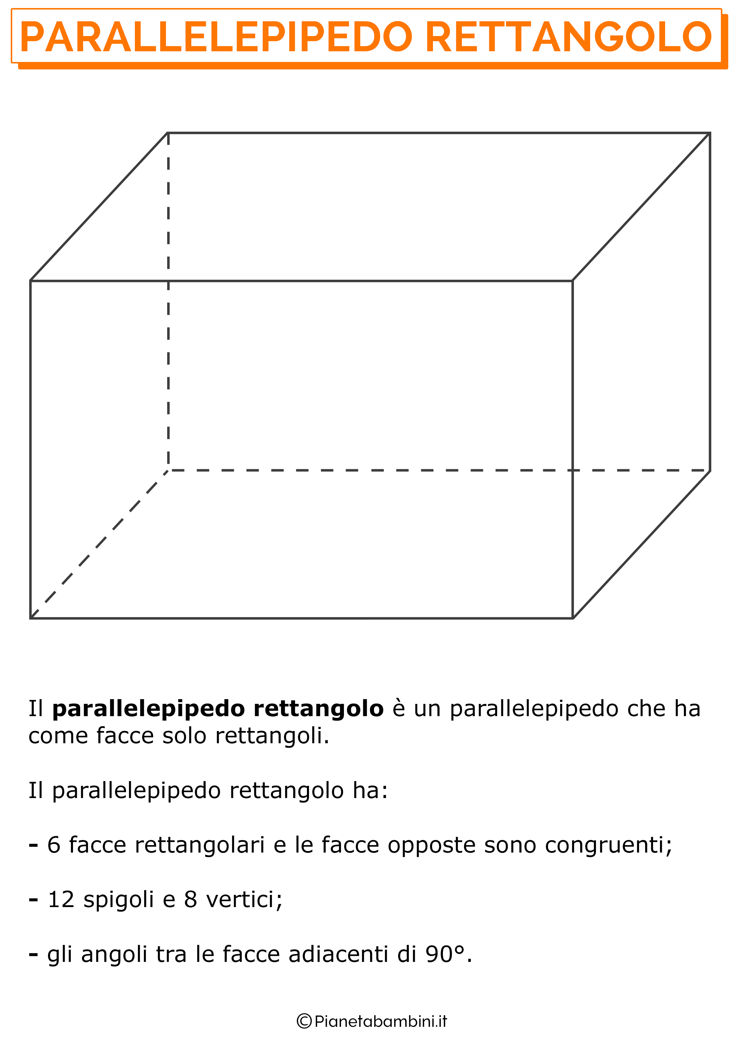 Immagine del Parallelepipedo Rettangolo