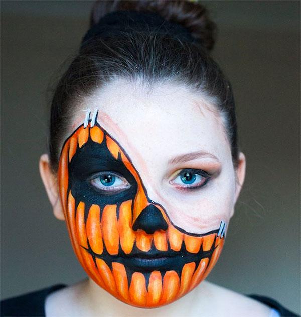 Trucco da zucca per Halloween 2