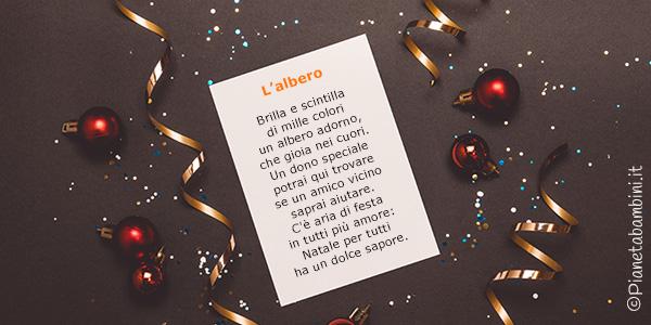 Filastrocche di Natale per bambini da stampare o leggere online