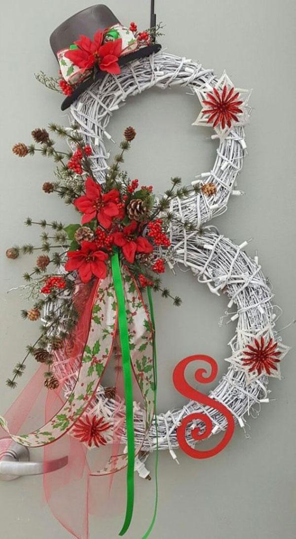 Idee per ghirlande natalizie n.41