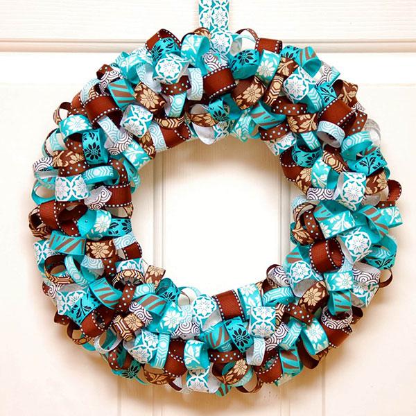 Idee per ghirlande natalizie n.42