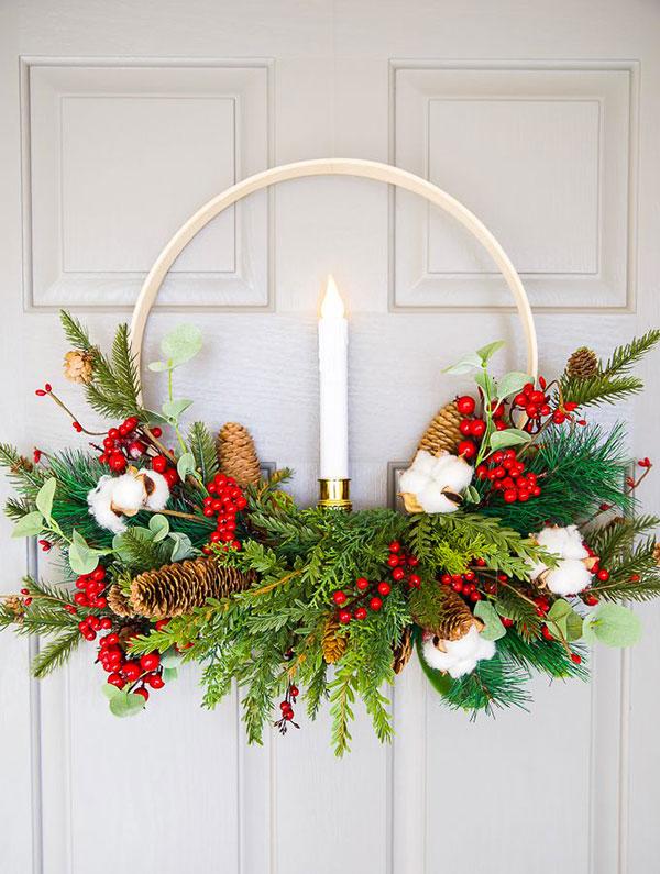 Idee per ghirlande natalizie n.46