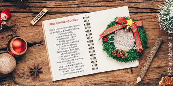 Poesie di Natale per bambini da stampare
