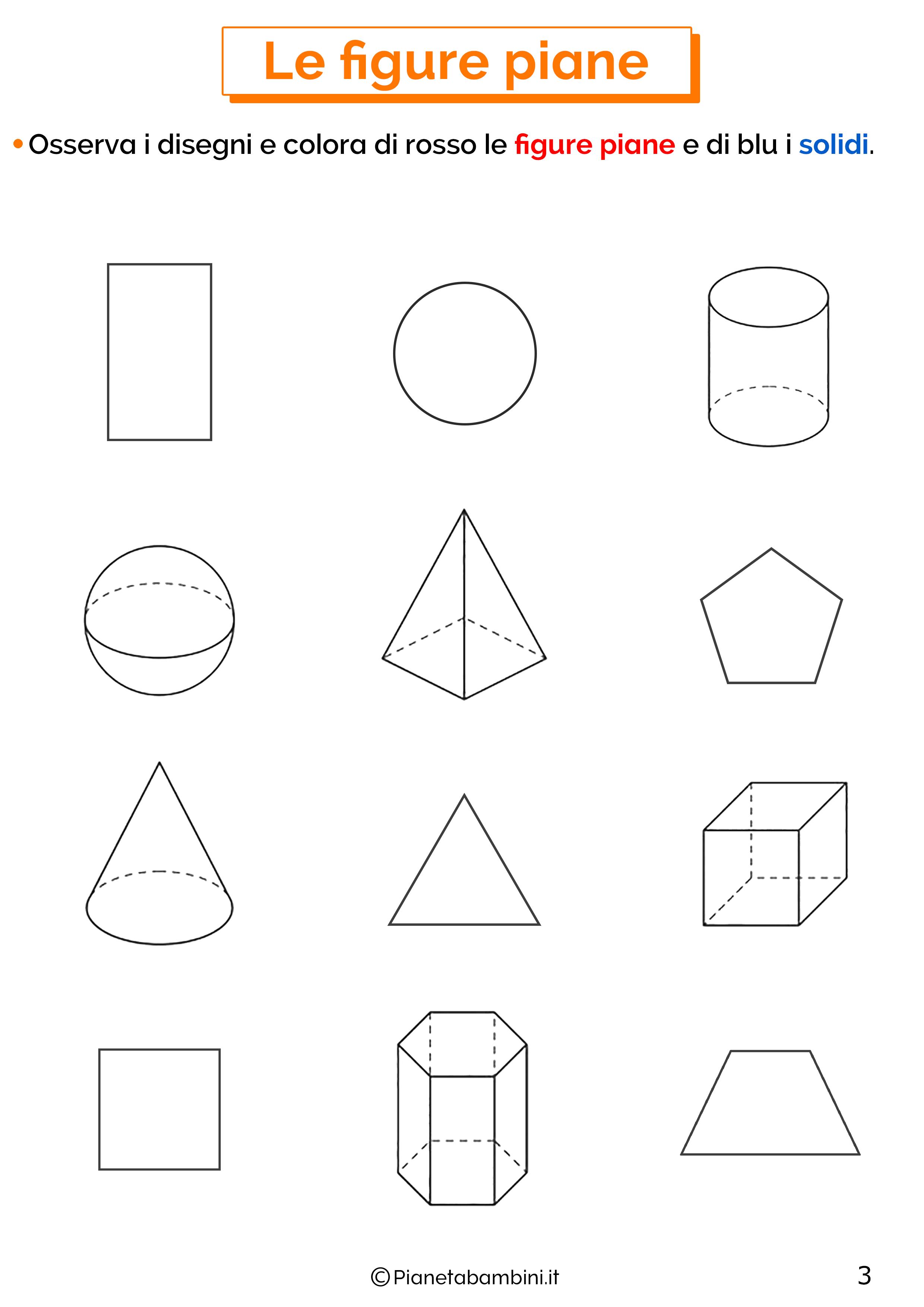Scheda didattica sulle figure piane 3