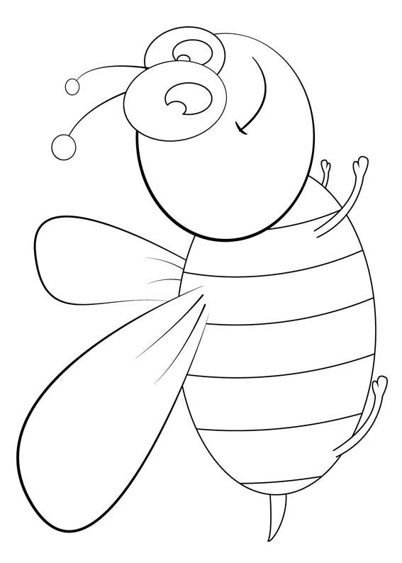 Disegno di ape 02