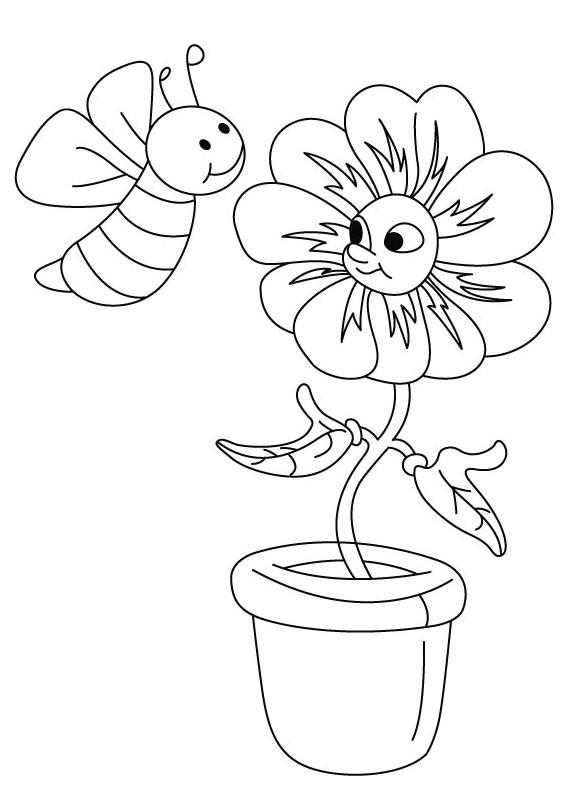 Disegno di ape 04