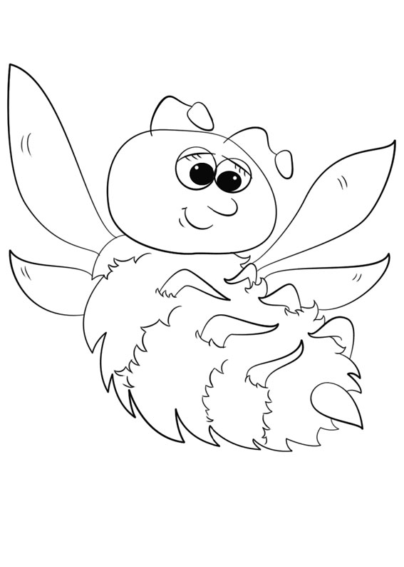 Disegno di ape 05