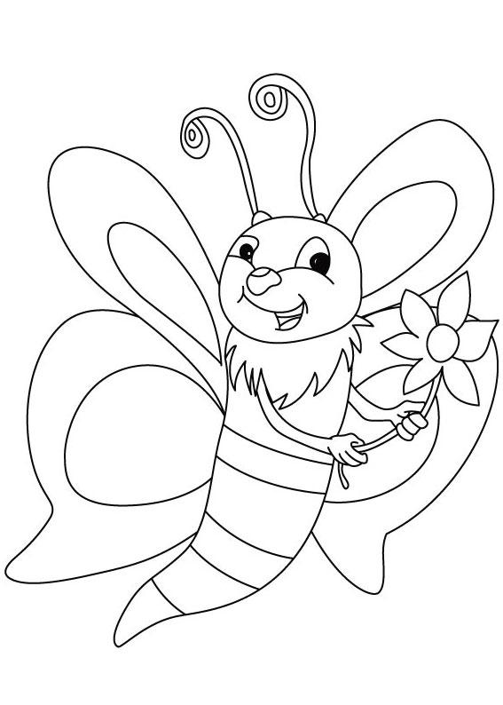 Disegno di ape 06
