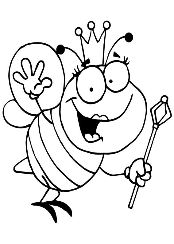 Disegno di ape 12
