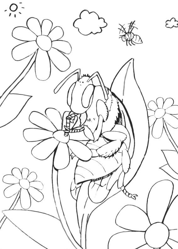Disegno di ape 29