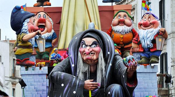 Immagine del Carnevale di Putignano