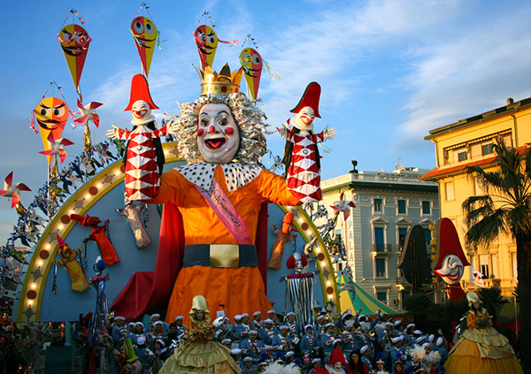 Immagine del Carnevale di Viareggio