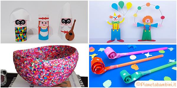 Idee per creare lavoretti di Carnevale con i bambini