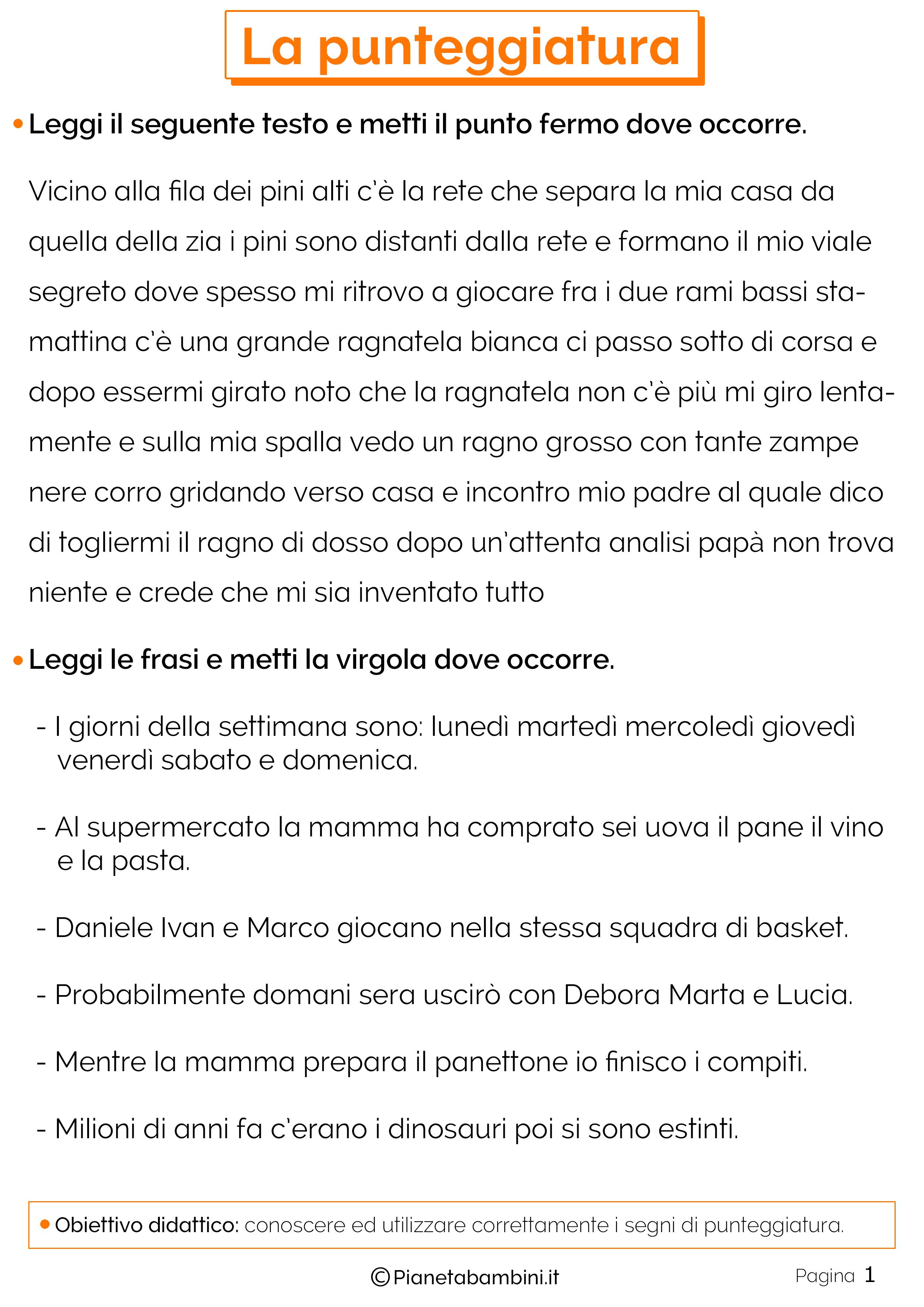 Prontuario di punteggiatura pdf