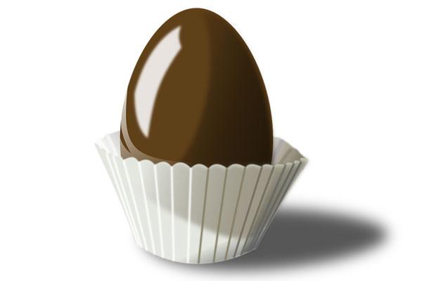Scherzi di carnevale creativi uova di cioccolato