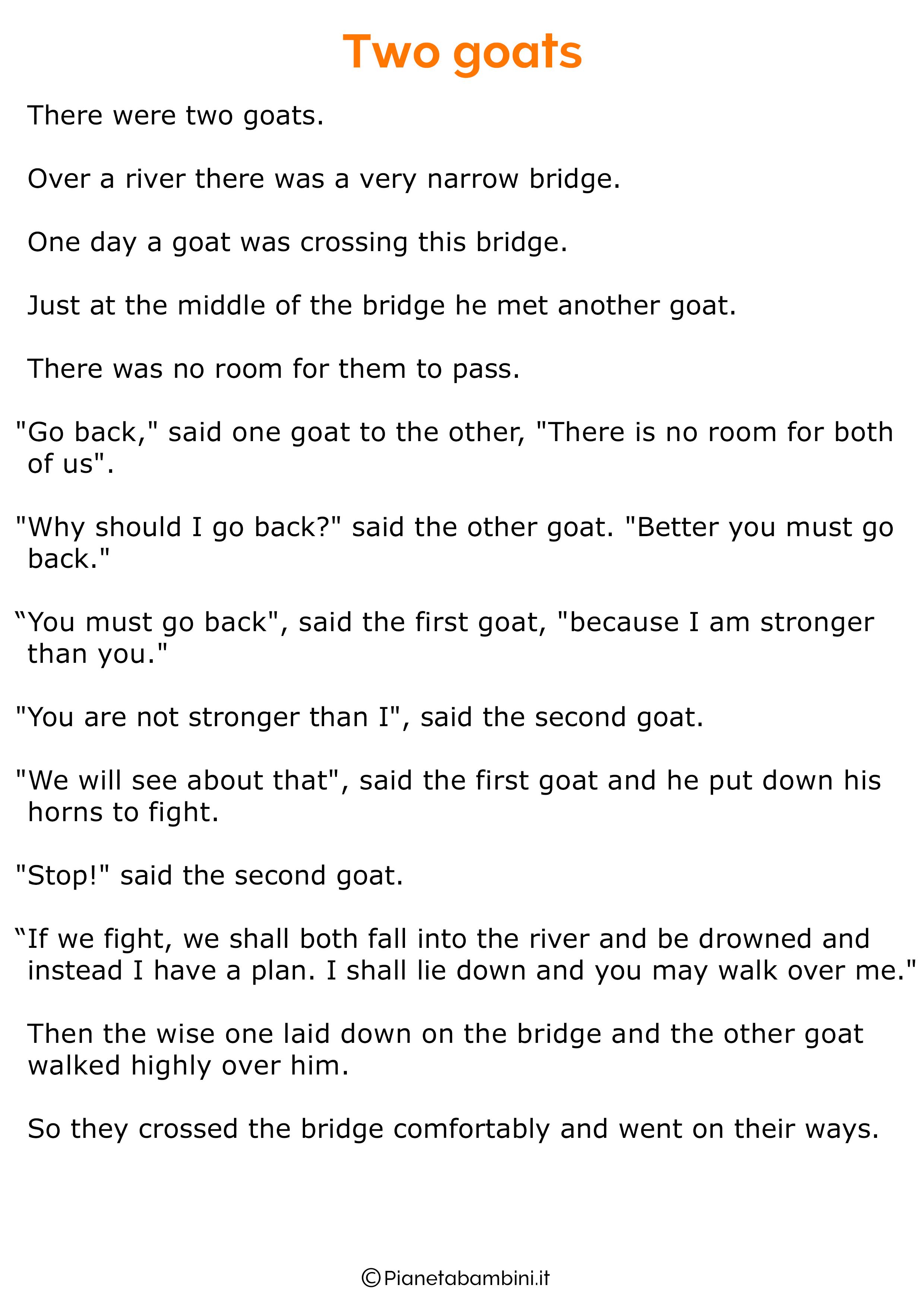 Racconto in inglese sugli animali 17