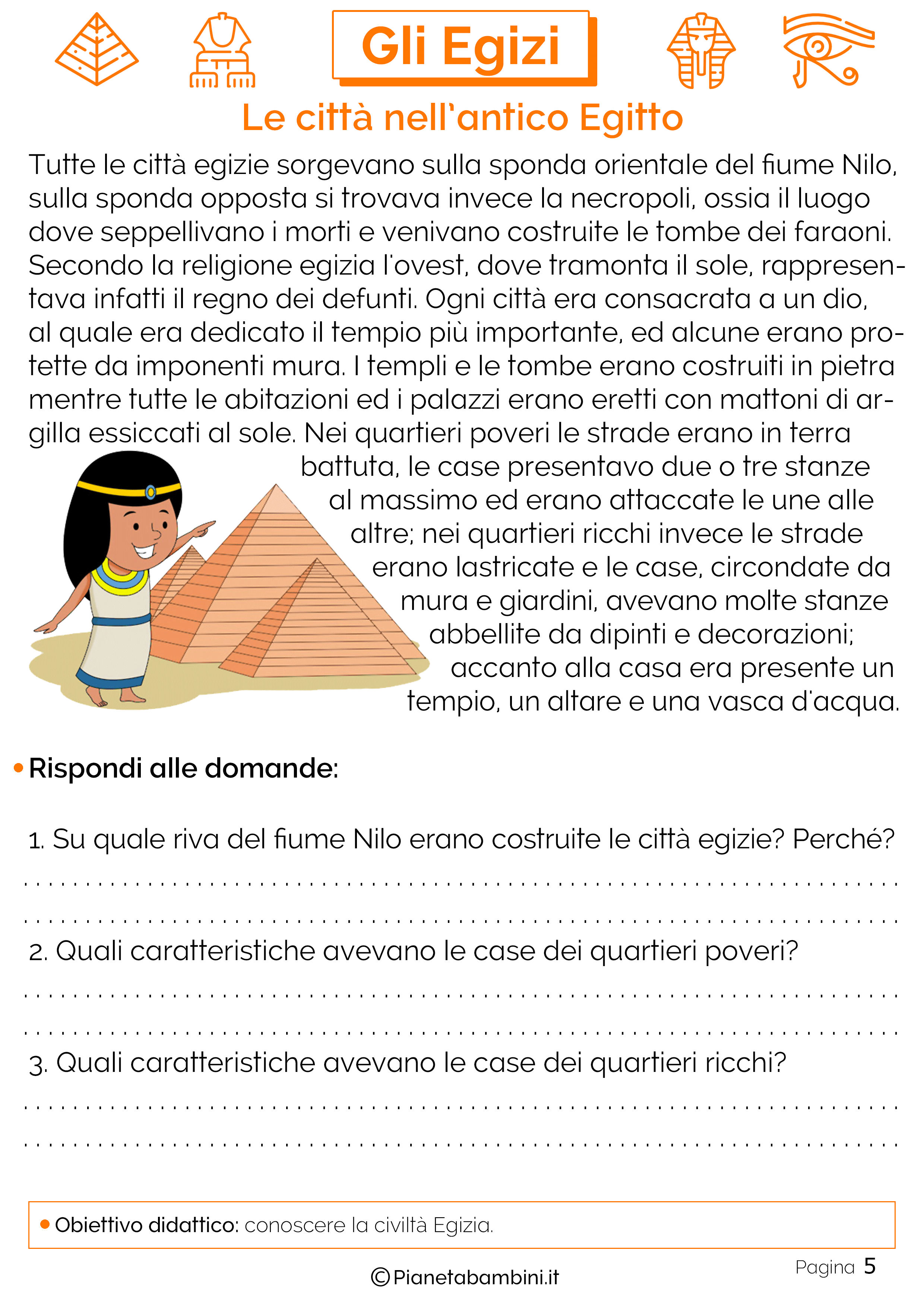 Le città dell'antico Egitto