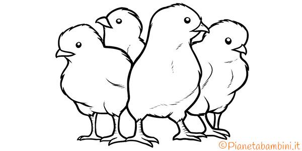 45 disegni di pulcini da colorare - Animali immagini da colorare pagine da colorare ...