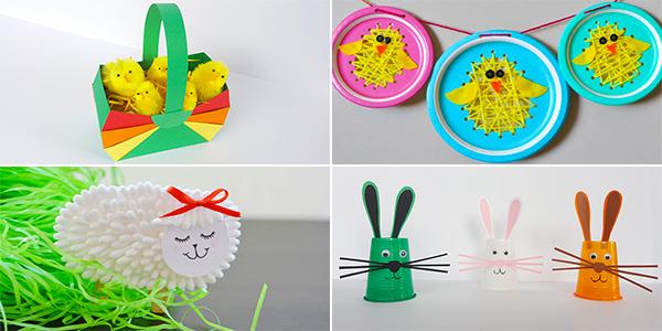 Idee per creare lavoretti di Pasqua con i bambini