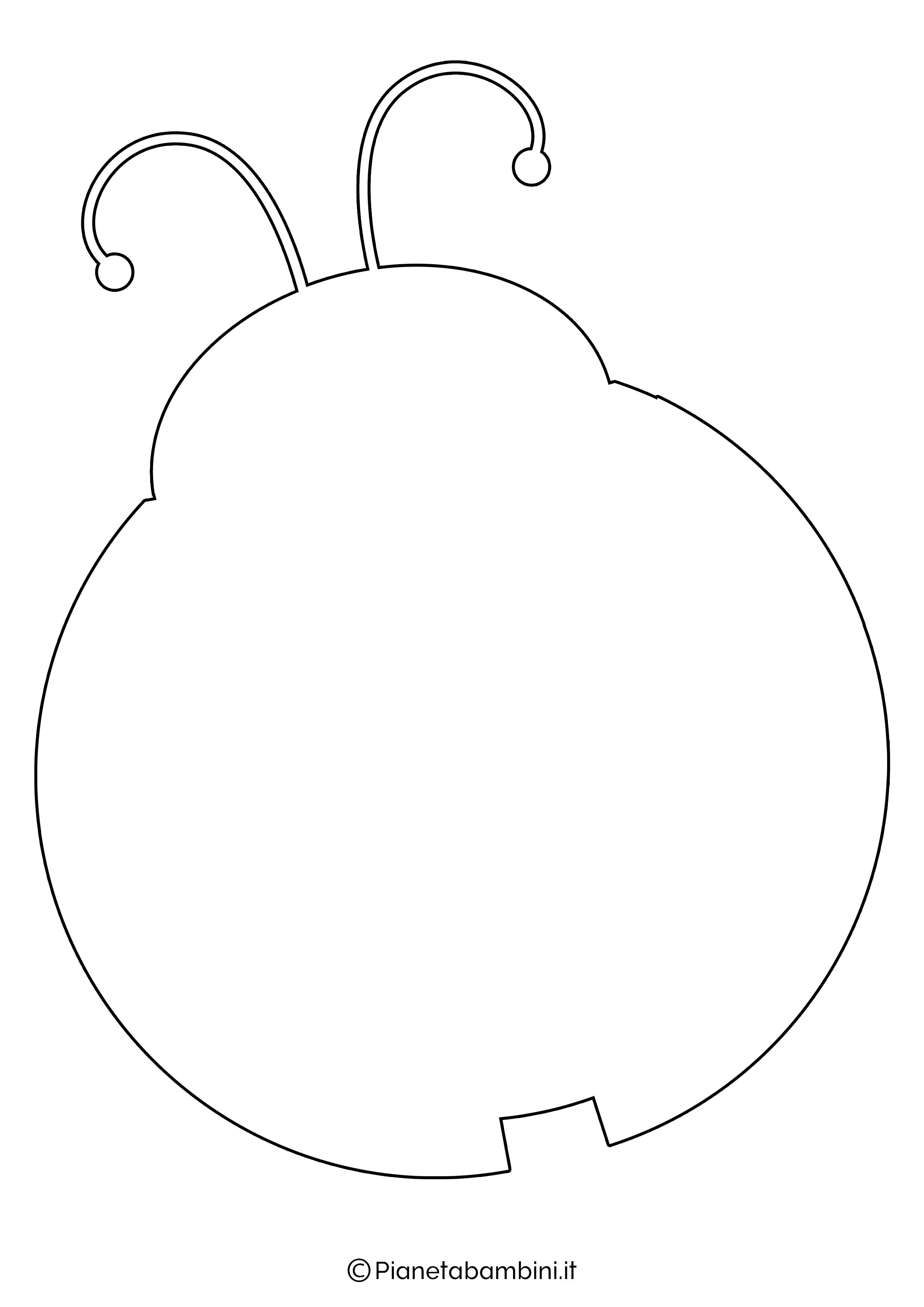 Disegno coccinella grande 5