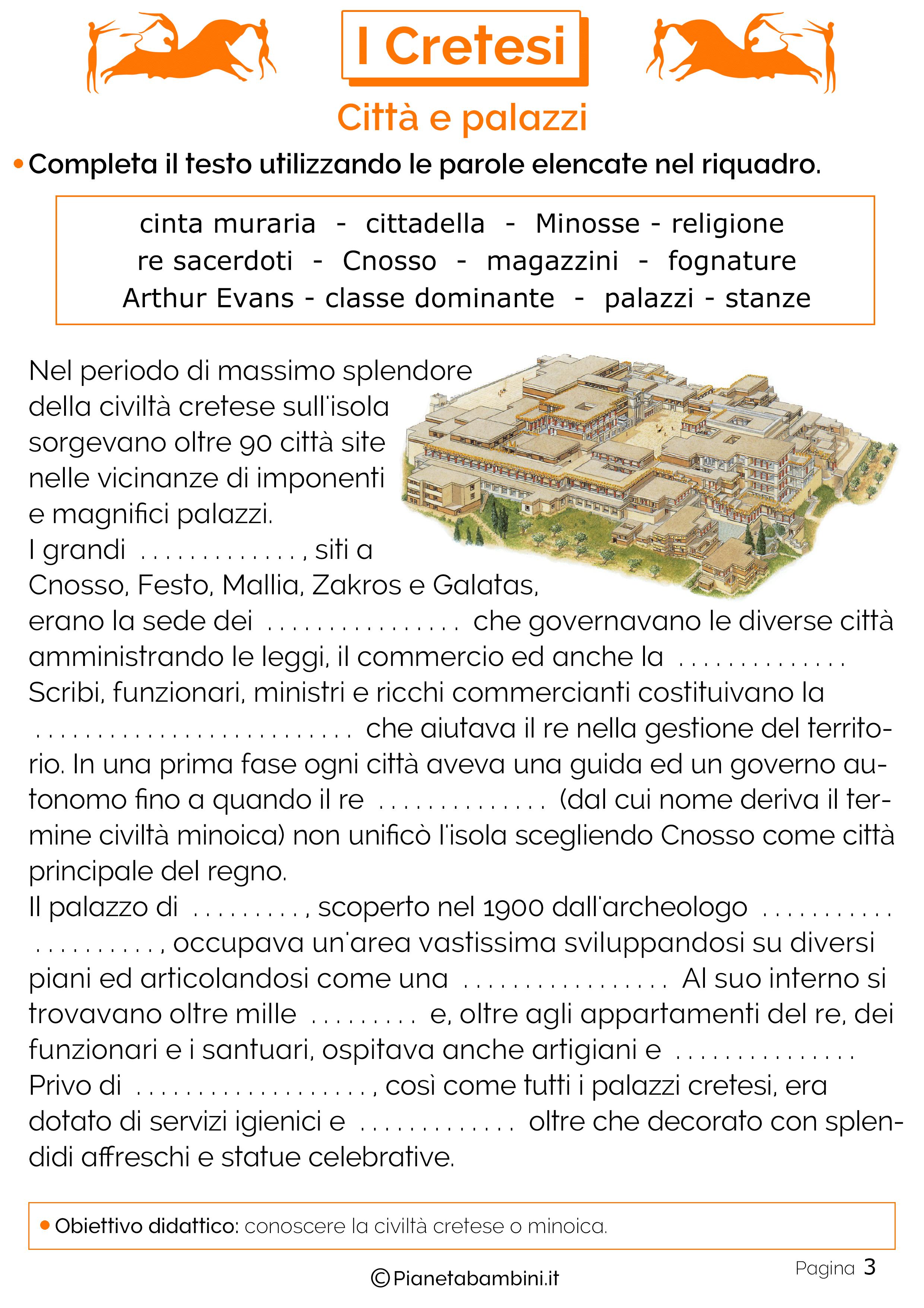 Le città e i palazzi della civiltà minoica