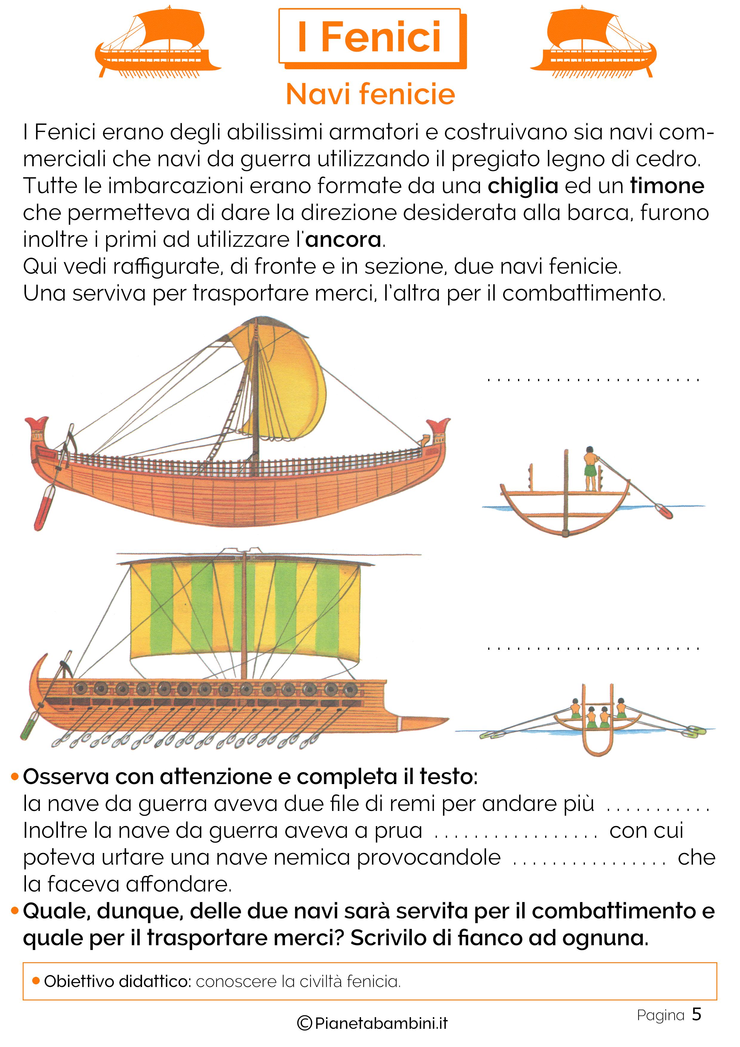 Le navi dei Fenici