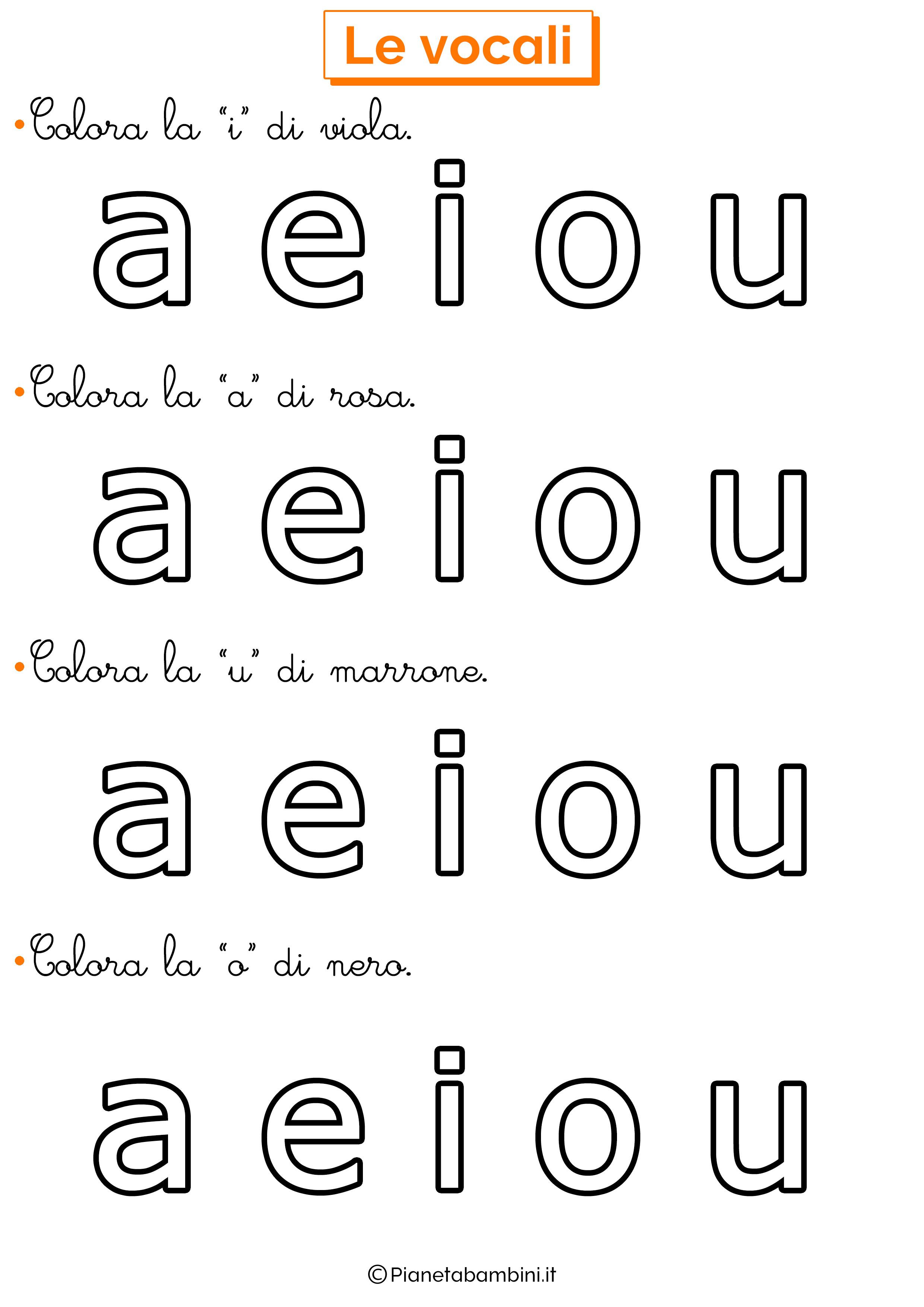 Colora Vocali 6