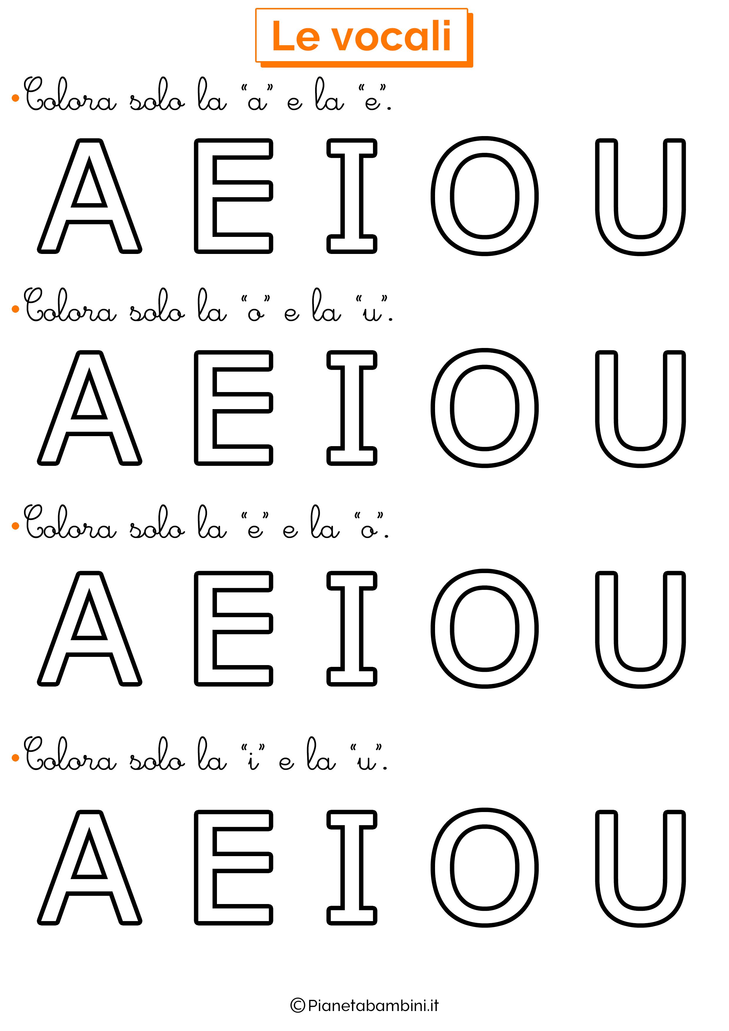 Colora Vocali 8