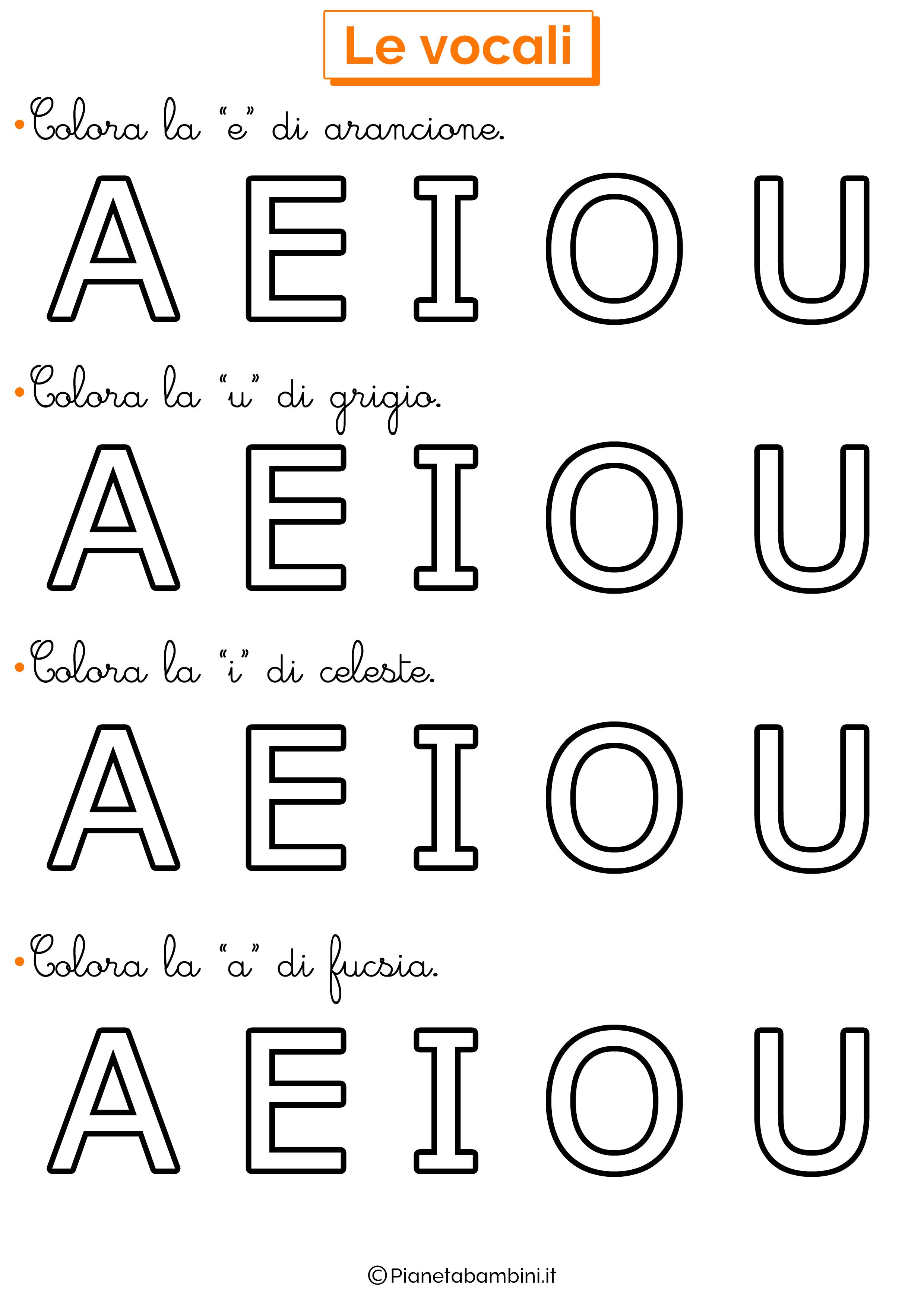 Colora Vocali 9