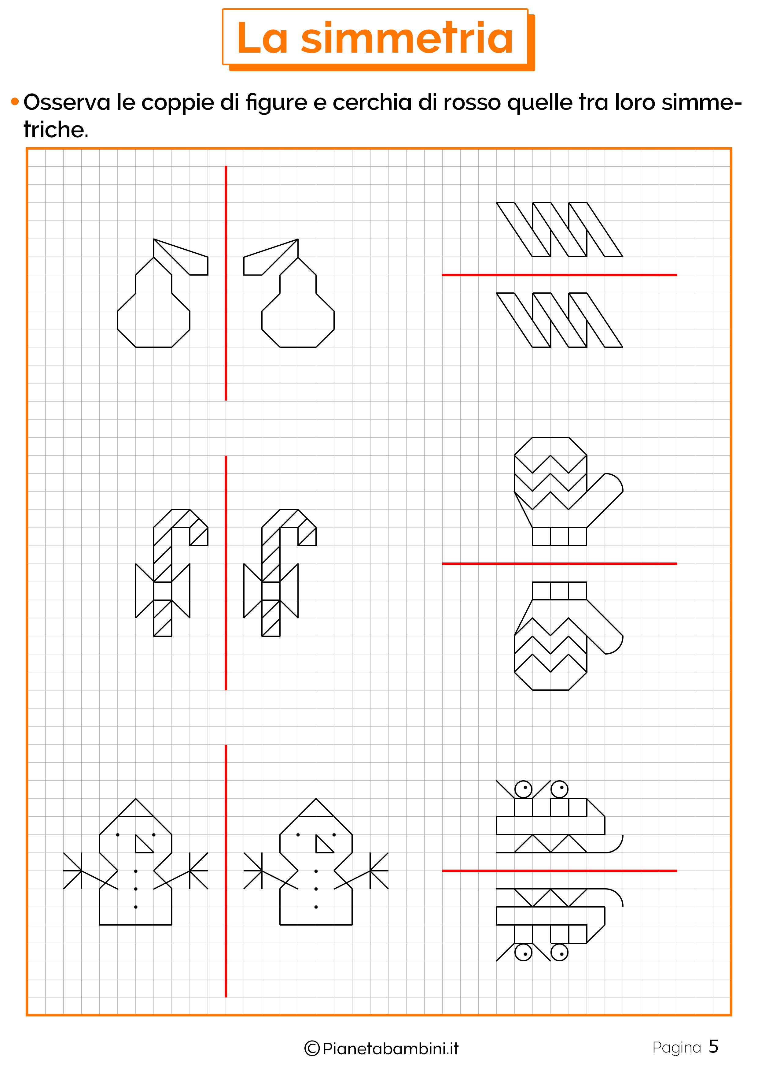 Schede didattiche sulla simmetria 5