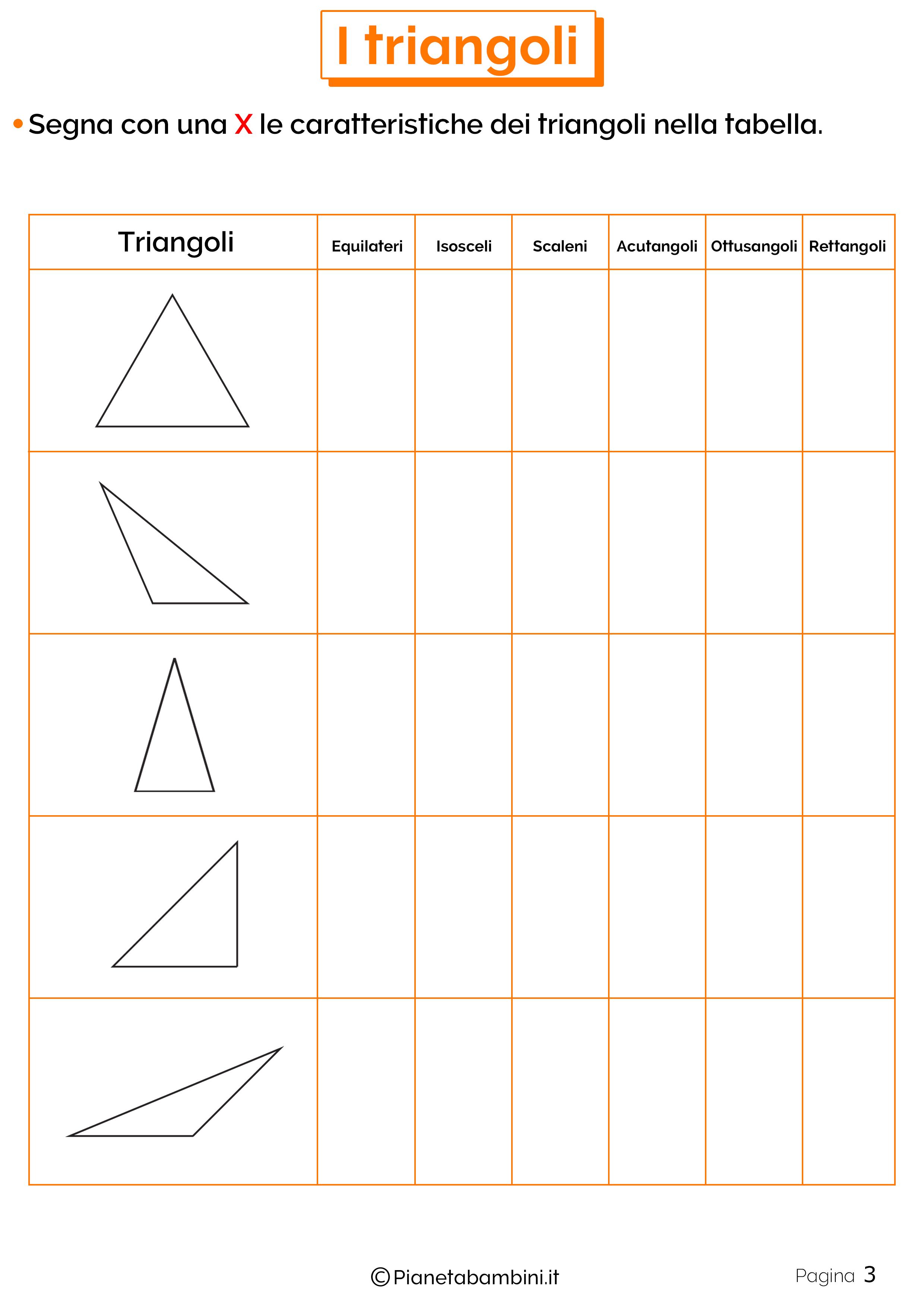 Schede didattiche sui triangoli 3
