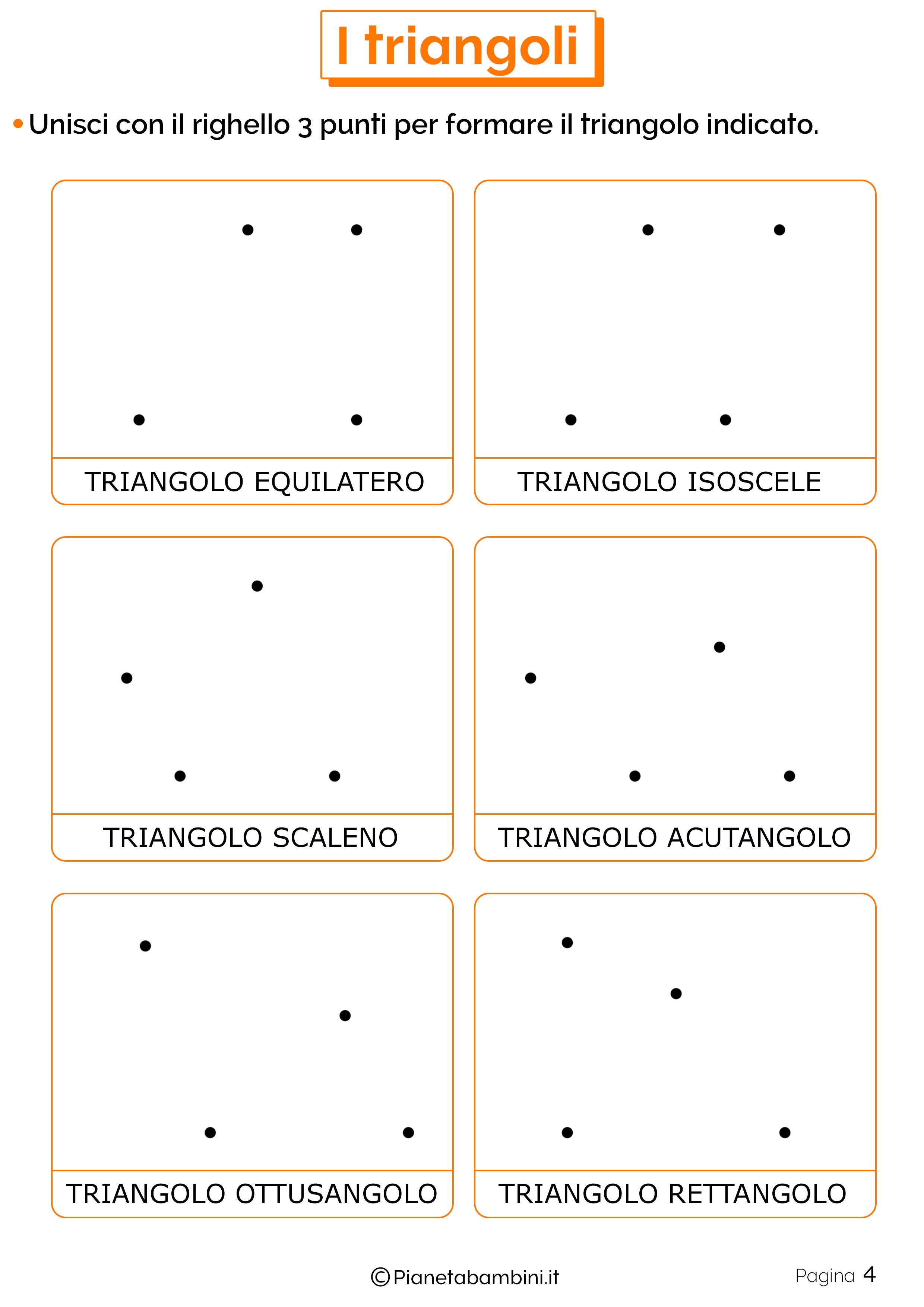 Schede didattiche sui triangoli 4