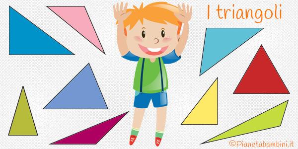 Schede didattiche sui triangoli per la scuola primaria da stampare gratis