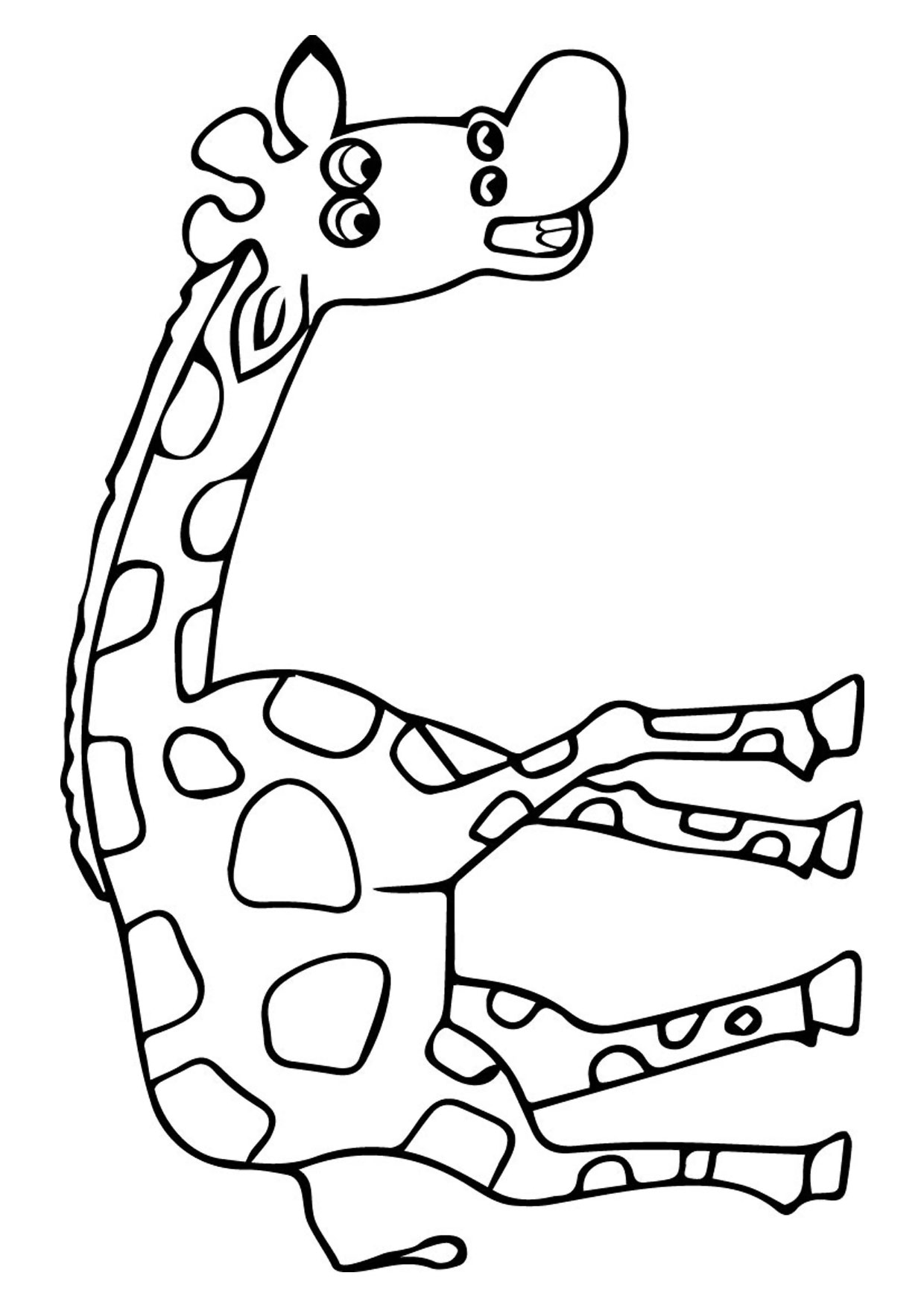 Giraffa in versione cartoon 12