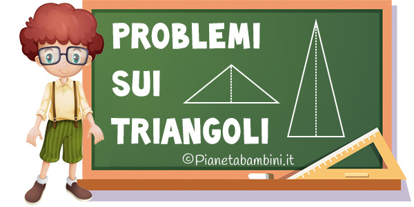 Problemi sui triangoli da stampare o leggere online