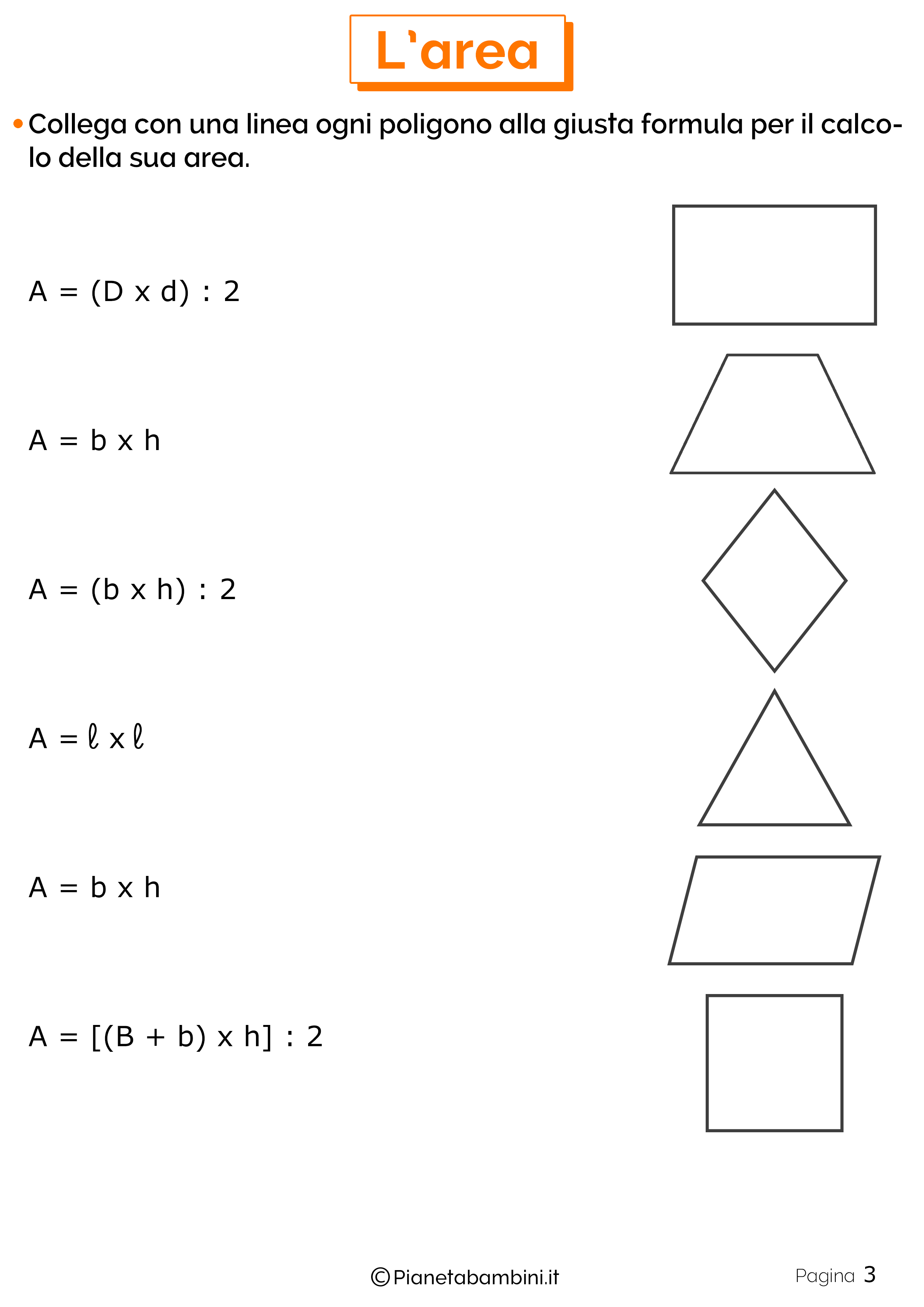 Schede didattiche area 3