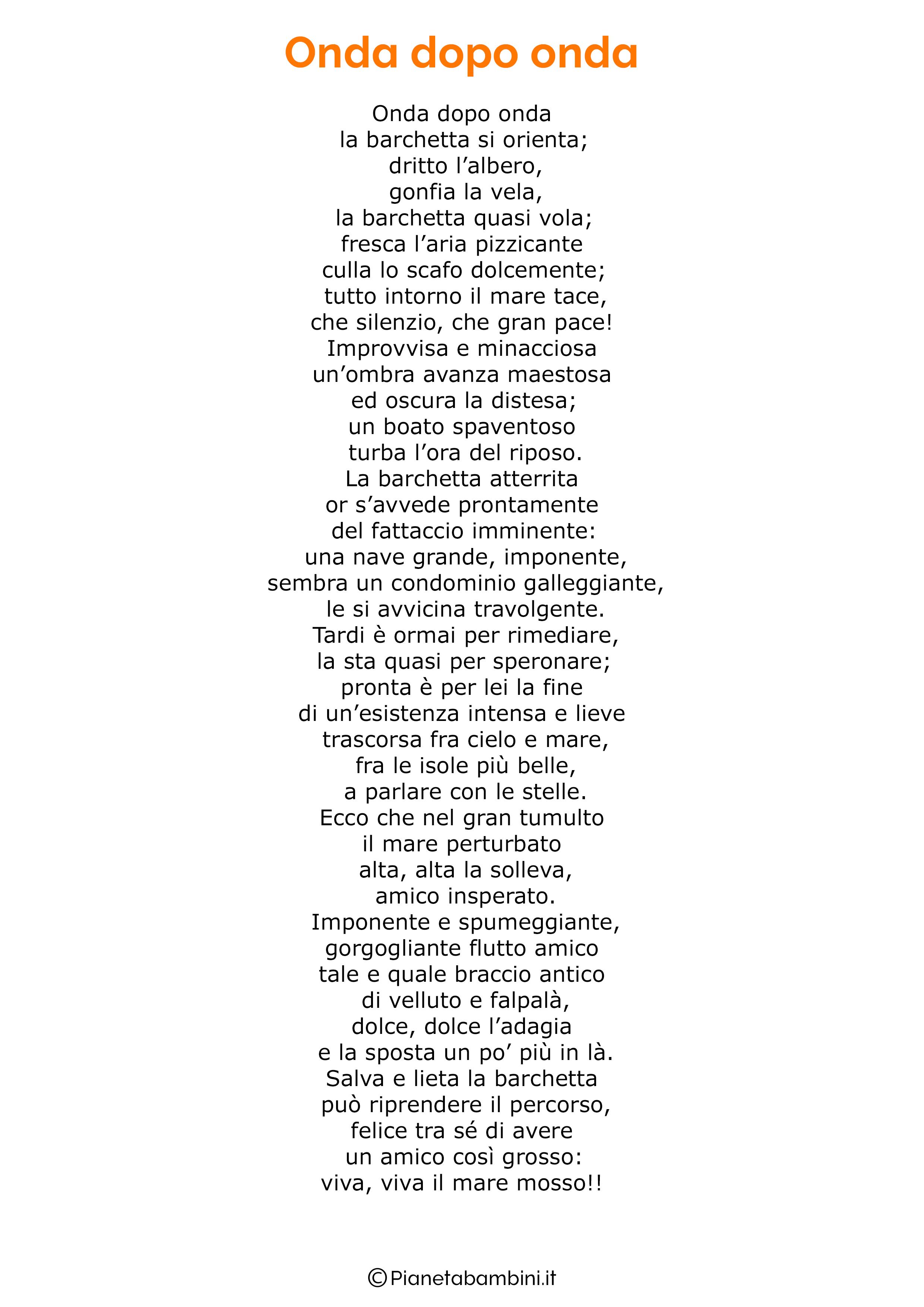 Poesia sul mare per bambini 13