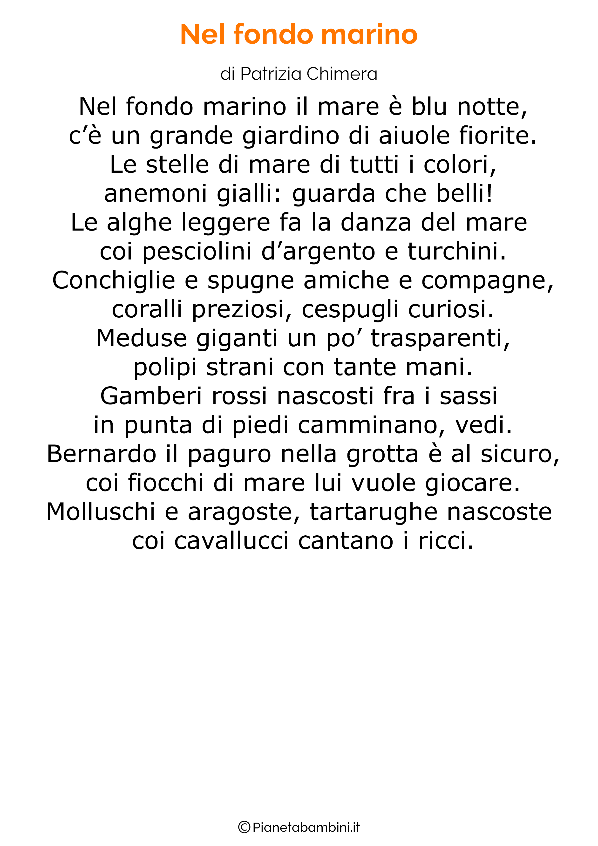 Poesia sul mare per bambini 21