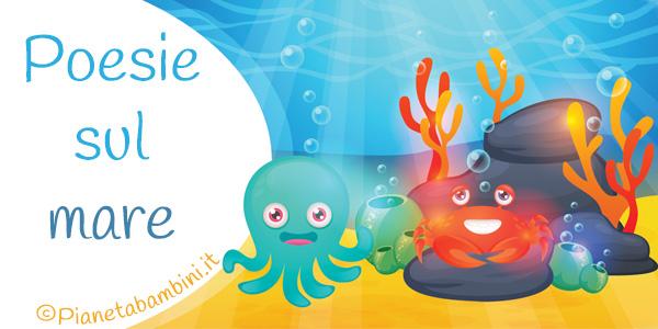 Poesie sul mare per bambini