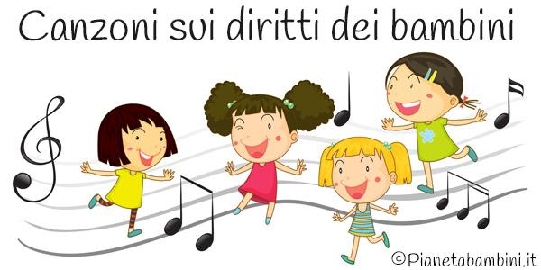 Canzoni sui diritti dei bambini da ascoltare online