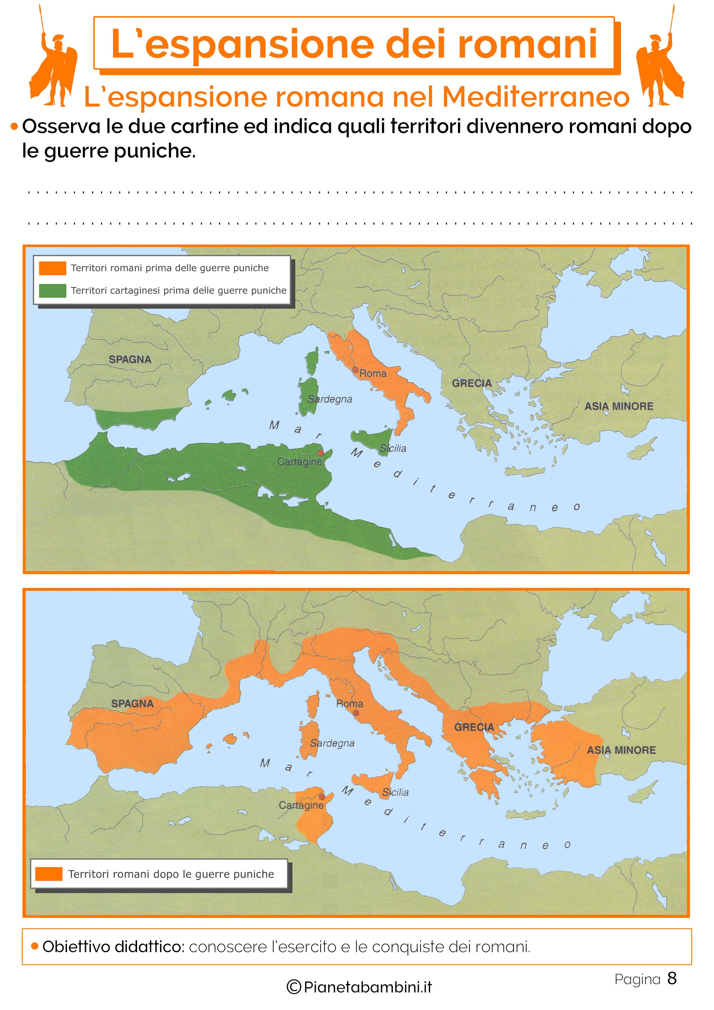 Espansione di Roma nel Mediterraneo