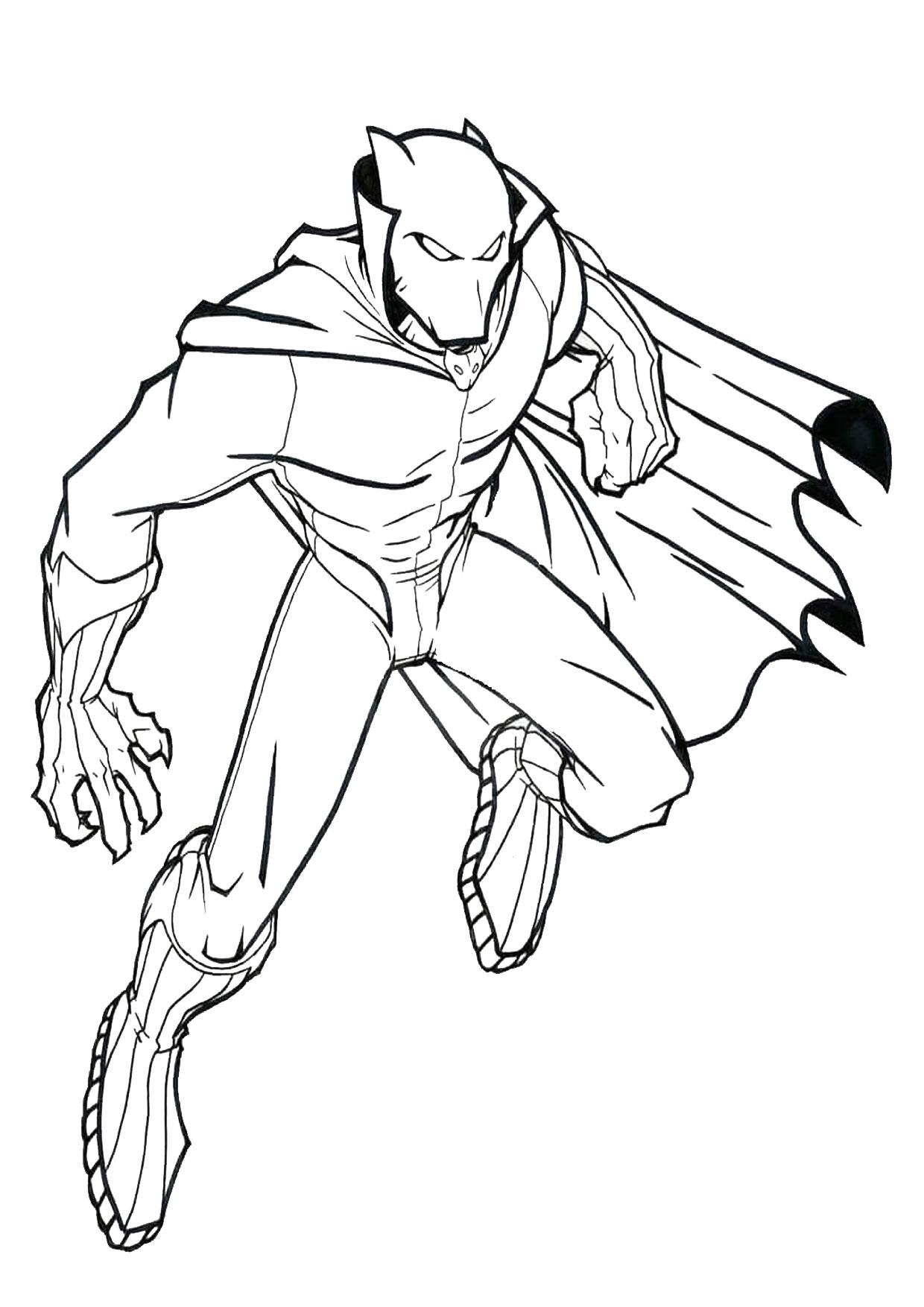 Disegno di Black Panther 03
