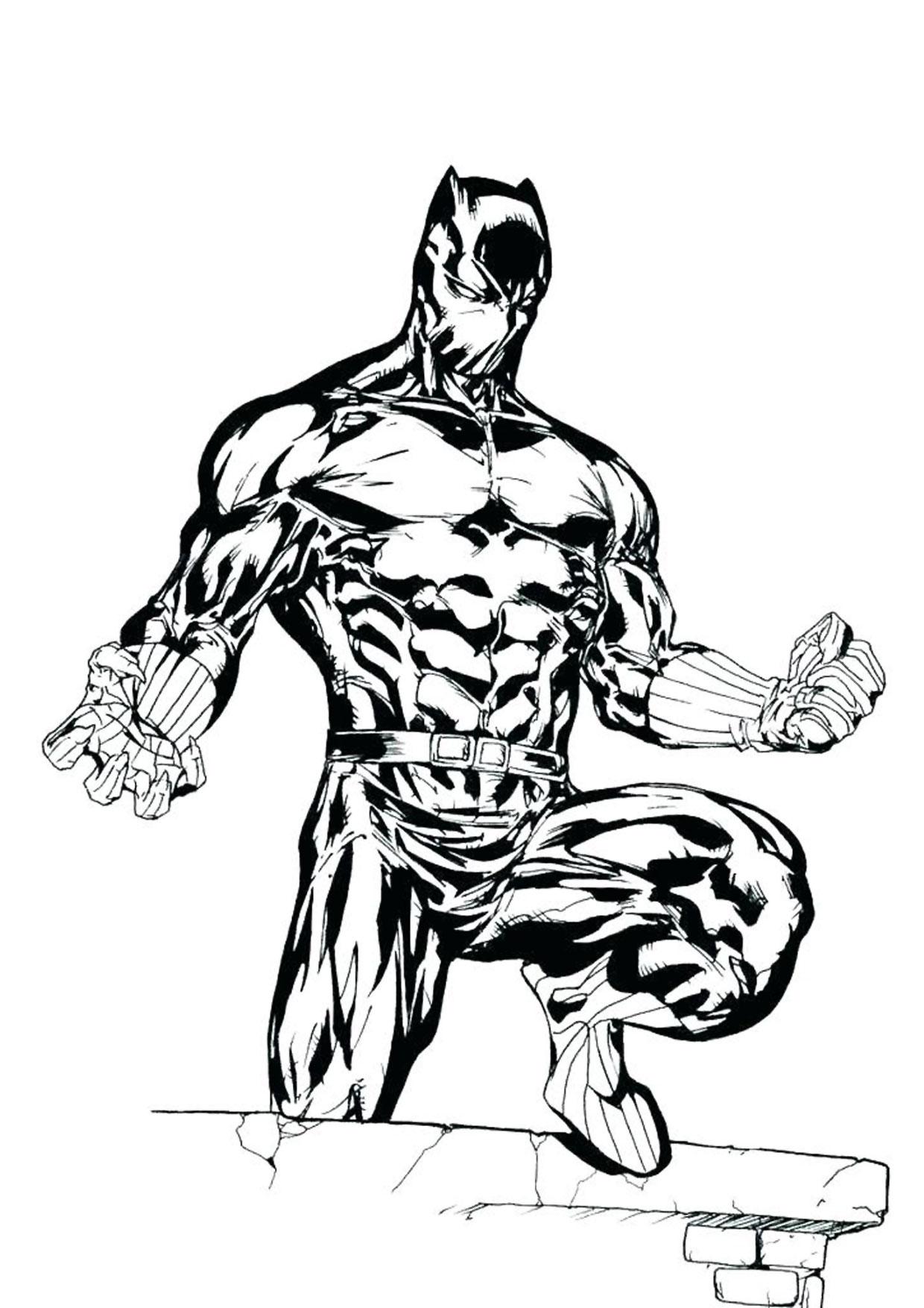 Disegno di Black Panther 05