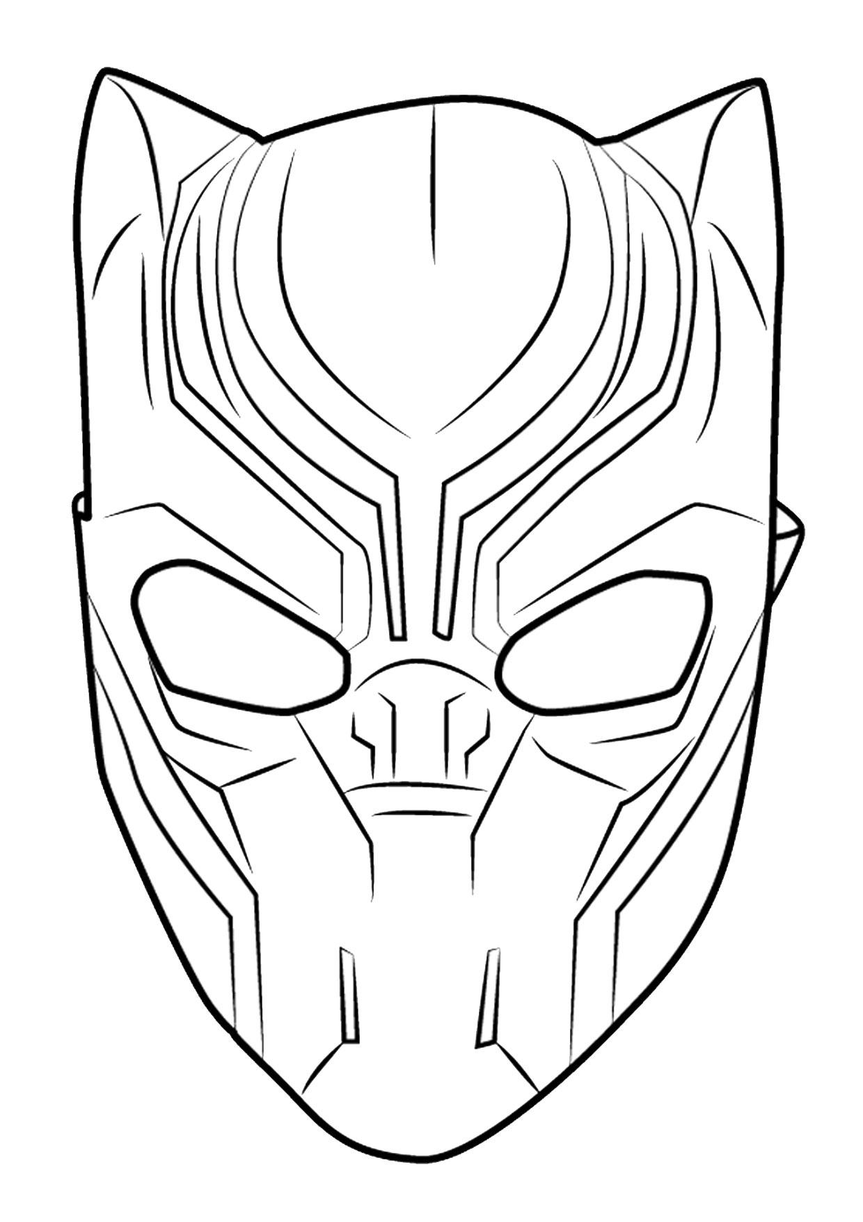 Disegno di Black Panther 08